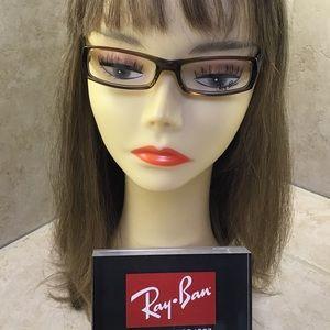 Authentic RayBan Unisex Eyeglasses CafeBrown